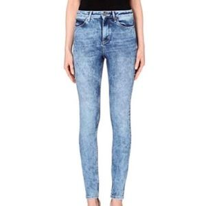 Sandro High Rise Skinny Jeans